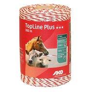Ako Topline Plus Wit/rood Draad 300mtr