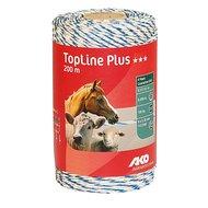 Ako Topline Plus Draad Wit/blauw 200mtr.