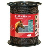 Ako Fencing Tape Topline Plus Brown 200m/40mm