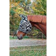 Kerbl Masque Anti-Mouches RugBe avec Couverture Oreilles Zebra Pony