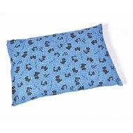 Duvo+ Kussen Met Rits Mucky Dog Blueberry Blauw 77x52x15cm