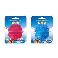 Duvo+ Dogtoy Tpr Ball Treat Dispenser Blauw/roze 7cm