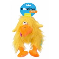 Coockoo Fuzzl Long Hair Plush Geel 25x14cm