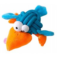 Coockoo Dog Toy Bobble Regular, Knot-plush Blauw 8cm