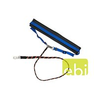 Dd Jogging-leash, Elastic -neopren-lining Blue 115cm
