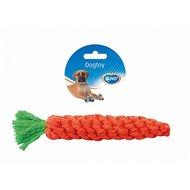 Duvo+ Dogtoy Knoop Katoen Wortel Oranje 20cm