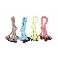 Duvo+ Scooby Touw Knoop Met Lus Gemengde Kleuren 30,5cm