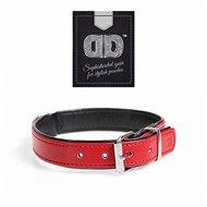 Duvo+ Chic Kunstleer Halsband Rood