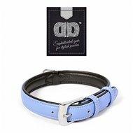 Duvo+ Comfy Leder Halsband Blauw/Zwart