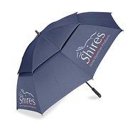 Shires Regenschirm mit Luftlöschern Navy