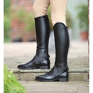 Shires Gaiters Synthetisch Leer Volwassenen Black
