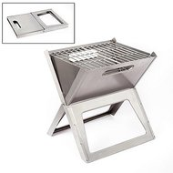 Bo-Camp Barbecue Notebook Compact Houtskool RVS
