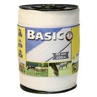 Ako Fencing Tape Basic White 200m/40mm