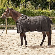 Harrys Horse Stable Rug Highliner 0g Navy with iron accents