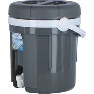 EDA Water and Juice Container with Tap Grey