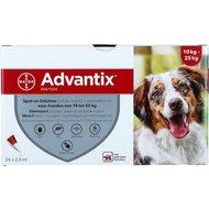 Advantix Dewormer 250/1250 Spot-On Dog 10-25kg
