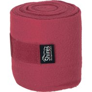Shires Bandages Fleece Burgundy 15cm
