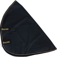 Bucas Irish Turnout Combi Neck Zwart/Goud