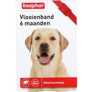 Beaphar Vlooienband hond rood 1st