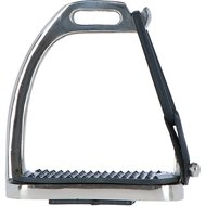 Horka Fillis Knife Edge Safety Stirrups Stainless Steel