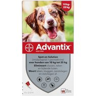 Advantix 250/1250 Spot-On Hond 10-25kg