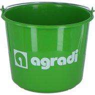 Agradi Agradi Eimer mit Logo Grün 12L