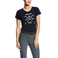 Ariat T-Shirt Logo Woman's Blauw