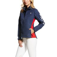 Ariat Jas Ideal Team Windbreker Woman's Blauw