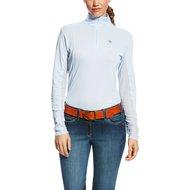 Ariat Shirt Sunstopper 1/4 Zip Lichtblauw