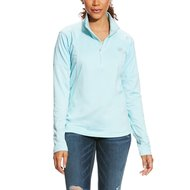 Ariat Shirt Tolt 1/2 Zip Woman's Sky Drift
