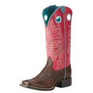 Ariat Womens Round Up Ryder Yukn Brown