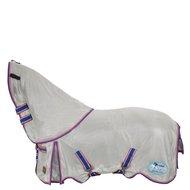 BR Vliegendeken 4-Ever Horses Afneembare Kap Mesh Cool mint