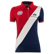 BR Poloshirt Catorce Dames Royal Red