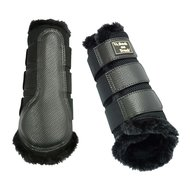 Back on Track Brush Boot 3D Mesh Voering Black
