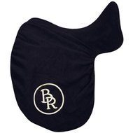 BR Saddle Cover Fleece Dressage Black Dressage