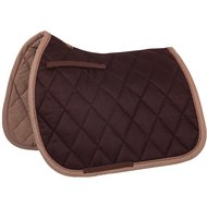 BR Saddlepad GP Event Cotton with Luxury Dark Choco Full