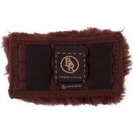 BR Curb Chain Guard Sheepskin 5cm Wide Brown 14cm