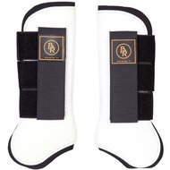 BR Tendon Boots Fetlock X-High PU Neoprene White Full