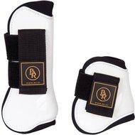 BR Tendon & Fetlock Boots & Fetlock Boots Set Pro Tech PU Neoprene White