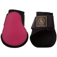 BR Fetlock Boots Event PU with Neoprene Bright Pink