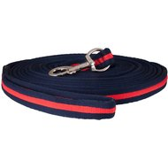 Premiere Lunging Side Rope Soft-grip Carabiner Blue red 8m