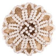 BR Knotnet Pearl Diamond Wit