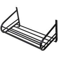 Stubbs Storage Shelf Tube Frame Wall Mount Black