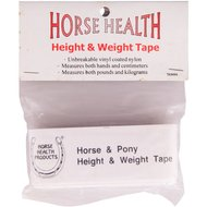 Premiere Meet-en Weeglint Horse Health 32mm Wit 216cm