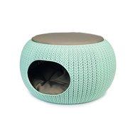 Curver Cozy Pet Home Lichtblauw Dia 55cm hoogte 35cm