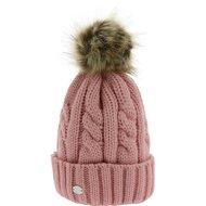 Equithème Pom-Pom Hat Torsades Roze