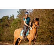 Feline Fauve Polo Carmen Zomer 2019 Turquoise L