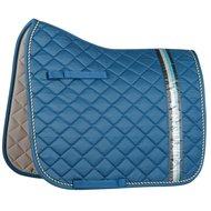 Harrys Horse Saddlepad Warrenton Dressage Aegean-Blue Full