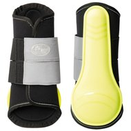 Harrys Horse Tendon Boots Neon Reflex Yellow