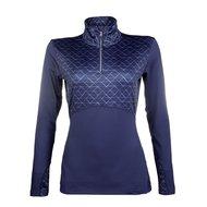 HKM Pro Team Sweatshirt Hickstead Donker blauw